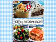 101 Easy Everyday Recipes Cookbook
