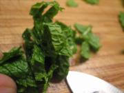 How to Cut Mint or Basil Chiffonade