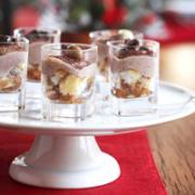 Delicious Tiramisu Shots are inexpensive holiday dessert
