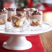 Delicious Tiramisu Shots are inexpensive holiday dessert