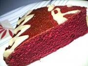 My First Bake- Red Velvet Cake with Vanilla Frosting