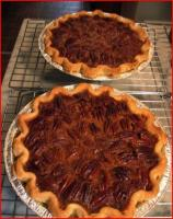 Making Pecan Pie