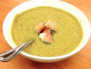 Herbed Green Pea Soup