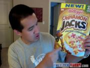 Movie Ticket Contest! Dots iPhone Game, Cinnamon Jacks Cereal Review: Freezerburns N.O.W. Vlog #3
