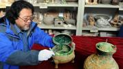 2400 Year old pot of soup was found in Xian province of China. This soup is believed to have prepared from the animal bones.