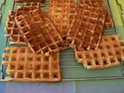 Carob Dessert Waffles