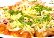 Crumbled Veal with Ham and Cheese