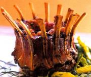 Roast Crown Of Lamb