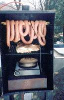 smoke a sausage for the smoke-y meat flavor