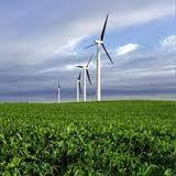 Wind turbines on farmland are good for the crops.