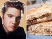 Elvis Presley loved to gorge on Southern fried food.