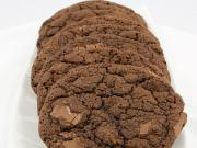 Organic Double Chocolate Walnut Cookies