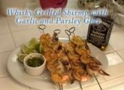 The Posh Pescatarian: Whiskey Grilled Shrimp