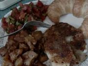 Cajun Spiced, Panfried Tilapia Fish & Potato Chops