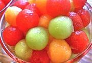 Drunken Melon Balls or Boozy balls