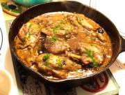 Chicken Marengo With Mushroom And Tomato Soup