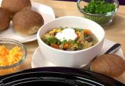 Slow Cooker Kidney Bean and Vegetable Stew