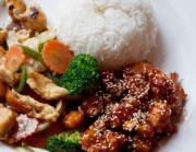 Quick Sesame Ginger Chicken