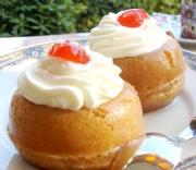 Baba au rhum can be just perfect for your breakfast