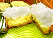 Baked Key Lime and Coconut Cheesecake