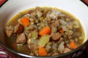 Lentil Soup With Beef And Barley