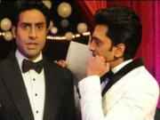 Abhishek - Violent & Angry at 14th Zee Cine Awards on 23rd Feb 2014