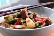 Pork & Vegetable Hot Pot