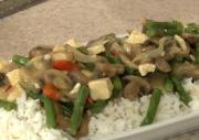 Thai Mushroom and Tofu Curry