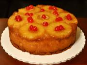 Glazed Cherries Pineapple Upside Down Cake