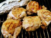 Barbecued Garlic Chicken