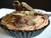 Making Chocolate and Honeycomb Cupcakes
