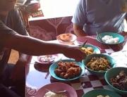 Thailand Breakfast In A Village Home