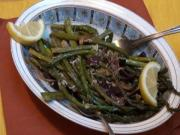 Easter Side Dish - Roasted Asparagus with Olives and Lemon