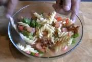Vegetable Pancetta and Pasta Salad