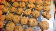 Making Chocolate Chip Cookies with Nana