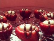 Tbt Cheesecake Stuffed Strawberry