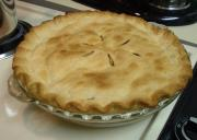 Tart Lemon Apple Pie