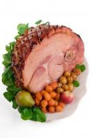 Spiced Baked Ham Slice