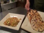 Tofu Scramble & Vegan Pancakes