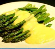 Asparagus with Sabayon Sauce