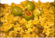 Puerto Rican Rice with Pigeon Peas