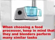 What to look for when choosing a Food Processor