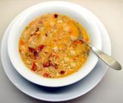 Potato Halibut Soup