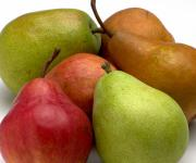 There are many different varieties of pears