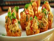Crunchy Buffalo Chicken Cups