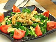 Crispy Chesapeake Ray Stinger Ceasar Dressing