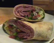 Italian Hoagie Wrap