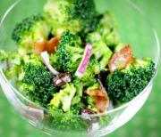 Broccoli and olive salad - perfect purim dish