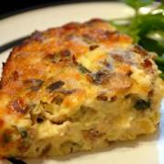 Sour Cream And Egg Casserole