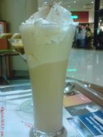 Cream of coffee
